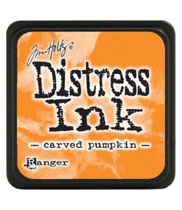 mini-distress-carved-pumpkin