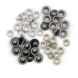 eyelets metalizados frios