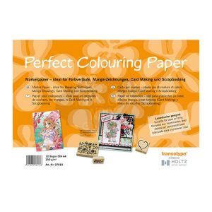 10 papeles de rotulacion perfect colouring paper