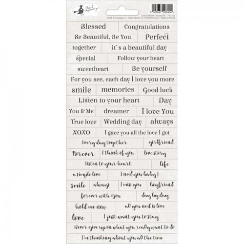 stickers con textos románticos