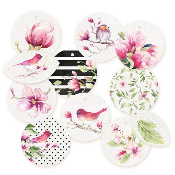 Tags decorativos de la colección Hello Beautiful