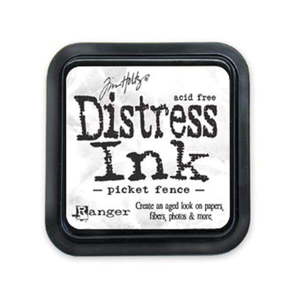 Distress Ink Picket Fence