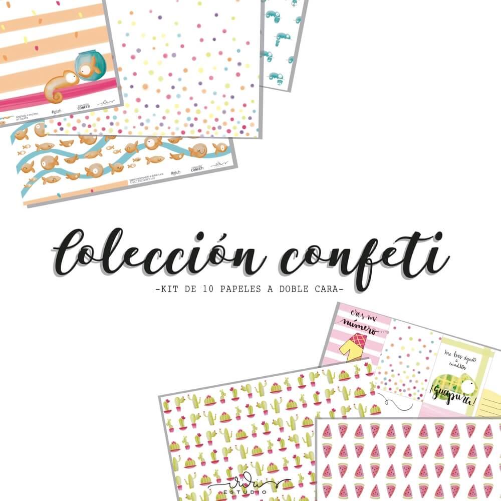 papeles coleccion confeti