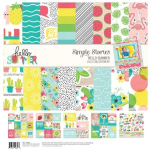 kit 12x12 hello summer
