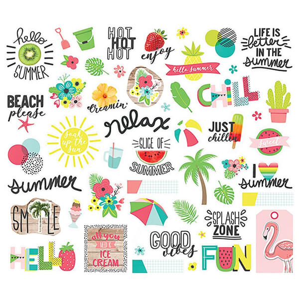 pack de die cuts hello summer