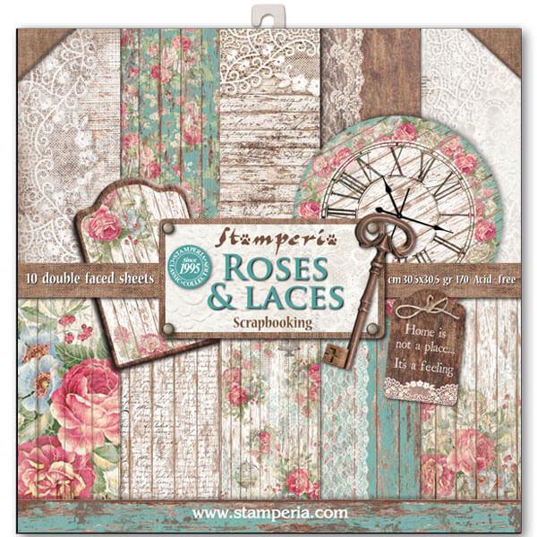 Kit papeles Roses