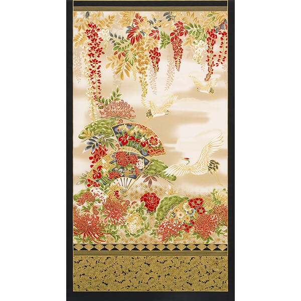 Panel patchwork oriental