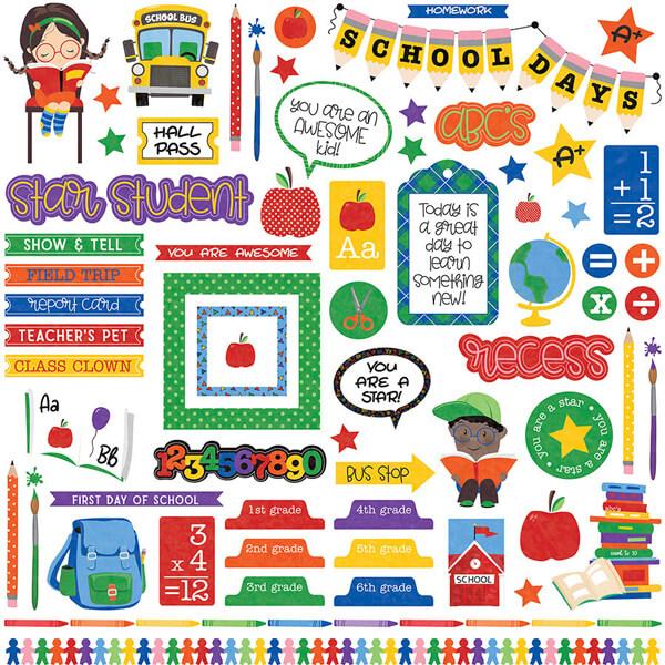 Stickers School Days