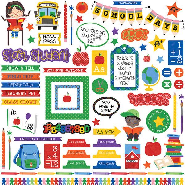 Stickers School Days