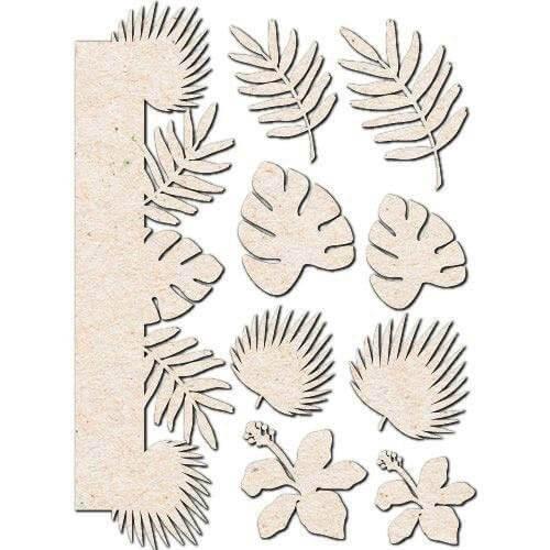 Siluetas hojas