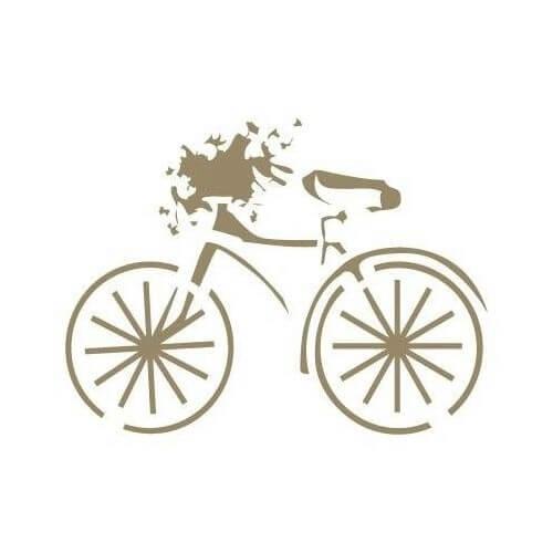 Stencil bicicleta