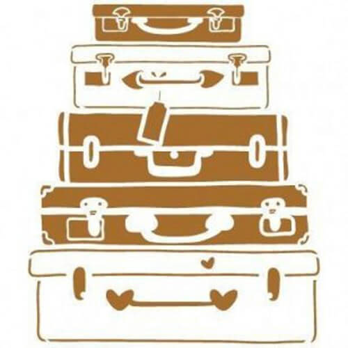 Stencil maletas