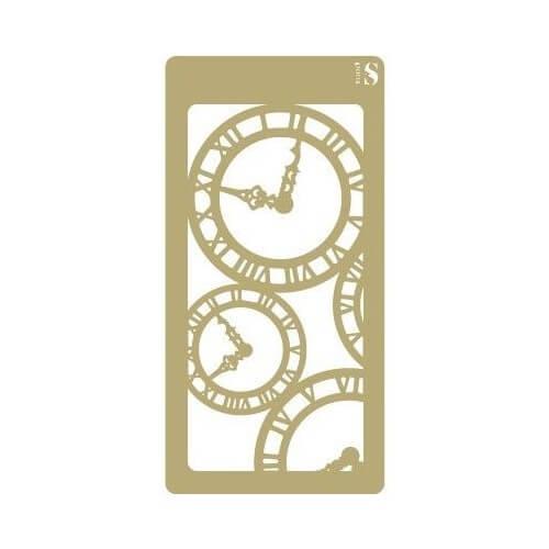 Stencil relojes
