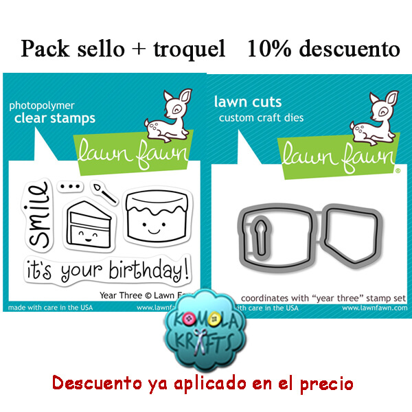 Pack Sellos y Troqueles Lawn Fawn