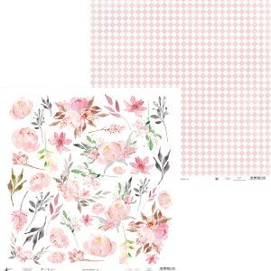 papel decoraciones modelo 07 love in bloom