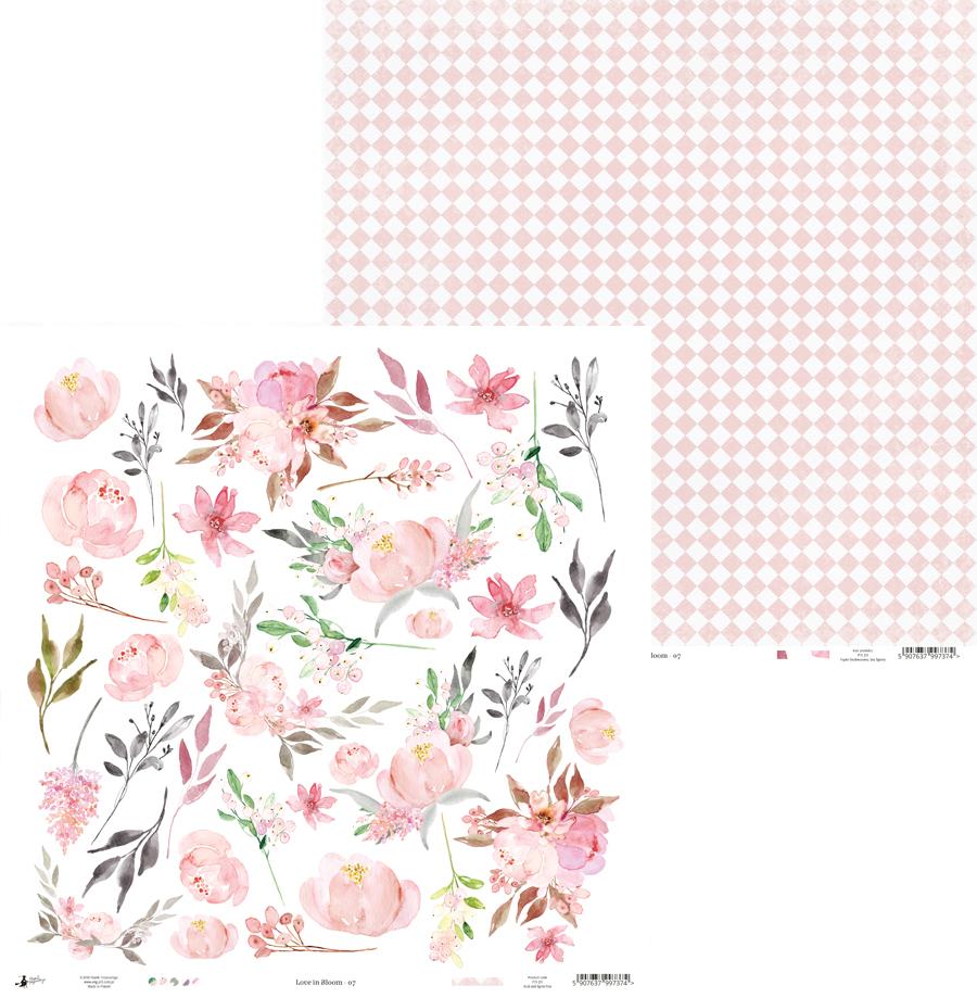 papel decoraciones modelo 07 love in bloom