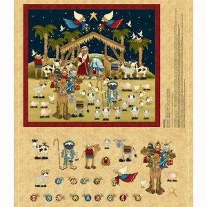 Panel Navidad Belen