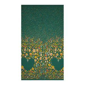 panel patchwork love garden vibrant