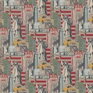 tela de patchwork destination new york