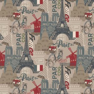 tela de patchwork destination paris