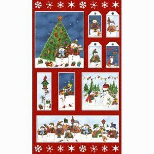 Panel navidad tarjetas