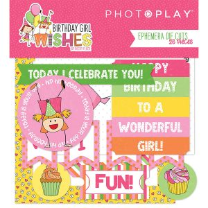 die cuts birthday girl