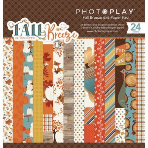 pad papeles 6x6 fall breeze