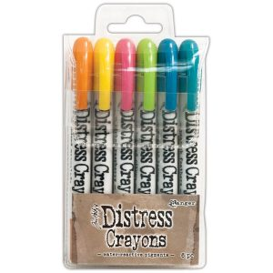 set 1 distress crayons
