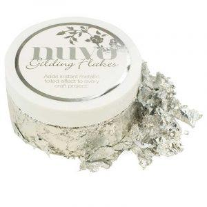 silver bullion nuvo gilding flakes