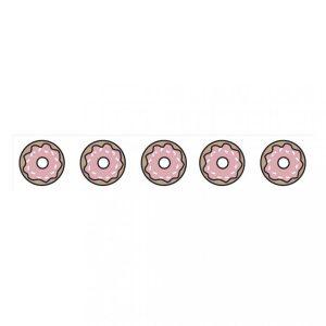 washi tape donuts