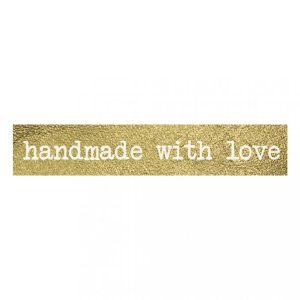 washi tape handmade with love