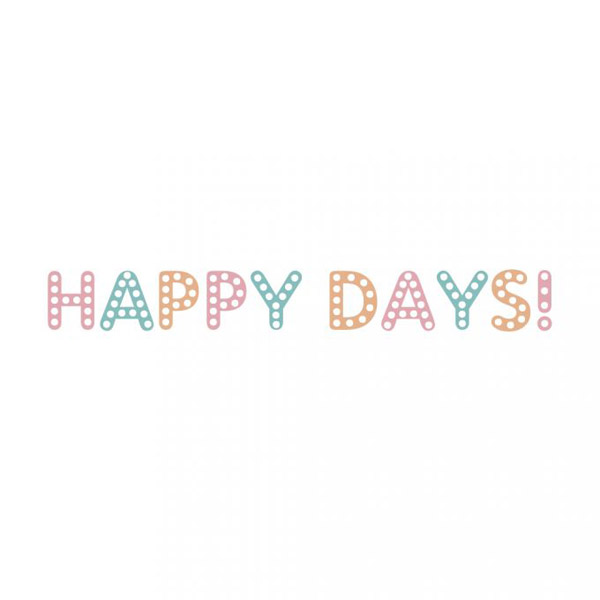 washi tape happy days