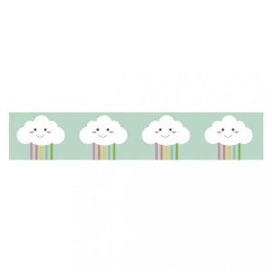 washi tape nubes felices