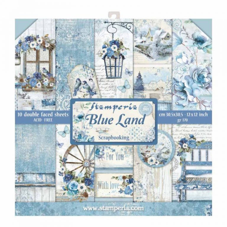 kit de scrapbooking blue land