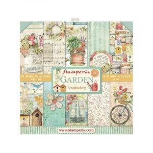 kit de scrapbooking garden