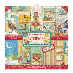 papeles patchwork stamperia