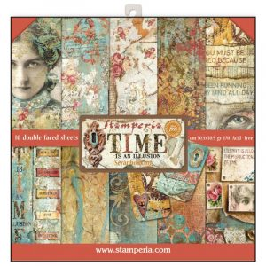 kit de scrapbooking time stamperia