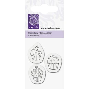 sellos acrílicos cupcakes cart us