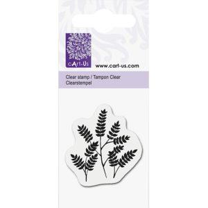 sellos acrílicos ramitas con hojas cart us