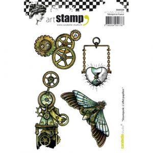 caucho steampunk effect papilon