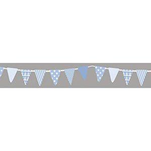 Washi Tape modelo banderin azul