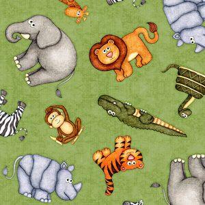 tela animales selva