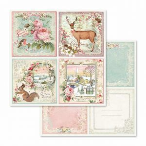 Papel Pink Christmas Cards