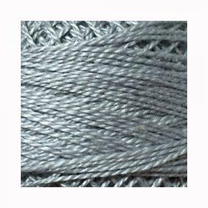Perlé de algodón Valdani N.118 Pearl Gray.