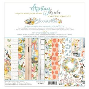 kit 12x12 bloomville de mintay by karola