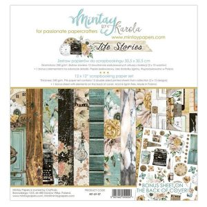 kit 12x12 life stories de mintay by karola