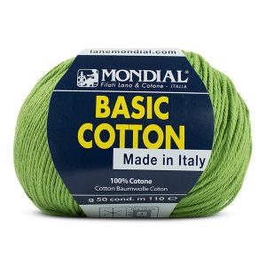 hilo mondial basic cotton verde