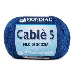 hilo mondial cablè 5 azul electrico