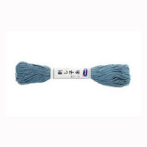 hilo sashiko 9 azul plomo
