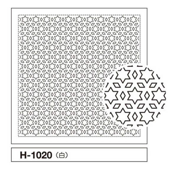 tela impresa sashiko H1020 olympus